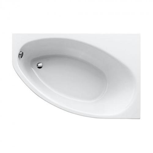 Geberit Renova Raumspar-Badewanne L: 150 B: 100 H: 44 cm, Raumecke rechts weiß 657340000