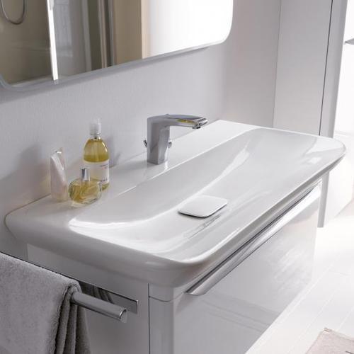 Geberit myDay Waschtisch B: 80 T: 48 cm weiß, mit KeraTect 125480600