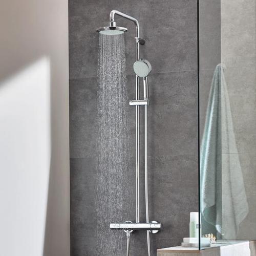 Grohe Tempesta Neu C System 160 Duschsystem mit Thermostatbatterie für die Wandmontage 27922000