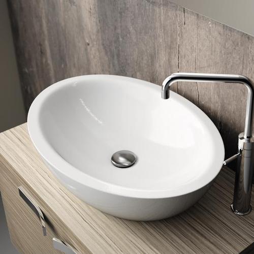Ideal Standard Strada ovaler Waschtisch B: 60 H: 16 T: 42 cm weiß Ideal Plus K0784MA