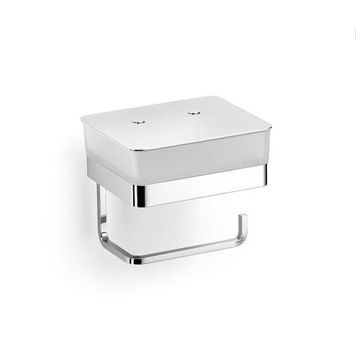 Giese Gifix Tono Glasbehälter für Feuchtpapier mit Papierhalter B: 155 H: 135 T: 150 mm 39770-02