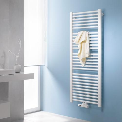 Kermi Basic-50 Badheizkörper für Warmwasser- oder Mischbetrieb B: 59,9 H: 177 cm weiß, 993 Watt E001M1800602XXK