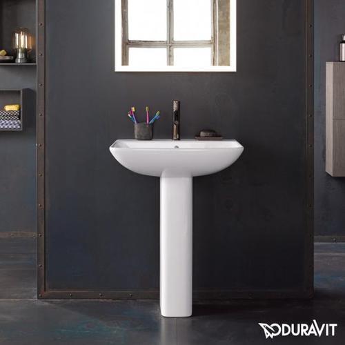 Duravit ME by Starck Waschtisch B: 65 T: 49 cm weiß, mit 1 Hahnloch 2335650000