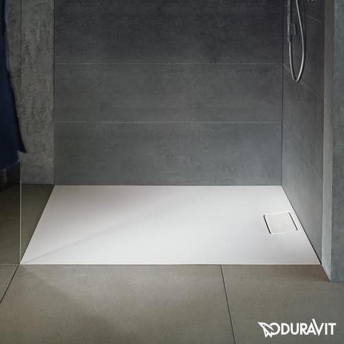 Duravit Stonetto Rechteck Duschwanne L: 140 B: 90 cm weiß matt 720150380000000