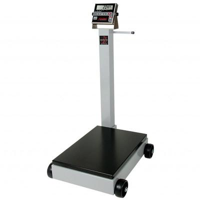 Detecto 8852F-190 1000 lb Digital Portable Scale w/ 190 Weight Display Indicator
