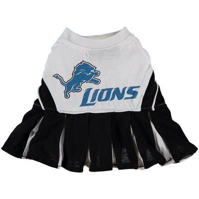 Detroit Lions Cheerleader Pet Outfit