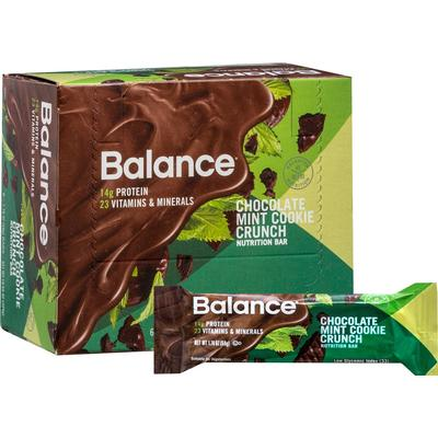 Balance Bar Chocolate Mint Cookie Crunch Balance Bar-6 per Box
