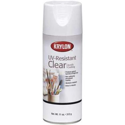 KRYLON K01305007 Spray Paint, Clear, Gloss, 11 oz.