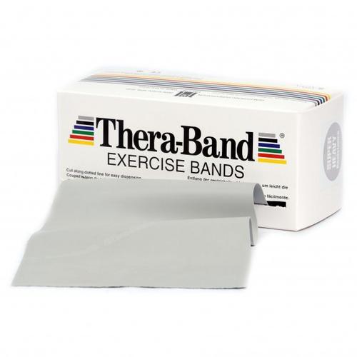 Thera-Band - Übungsband - Fitnessband Gr 12,8cm x 5,50m grau