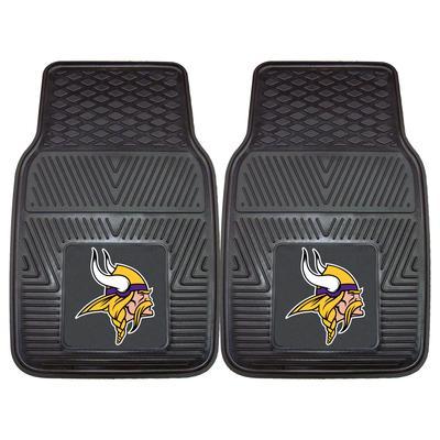 "Minnesota Vikings 27"" x 18"" 2-Pack Vinyl Car Mat Set"