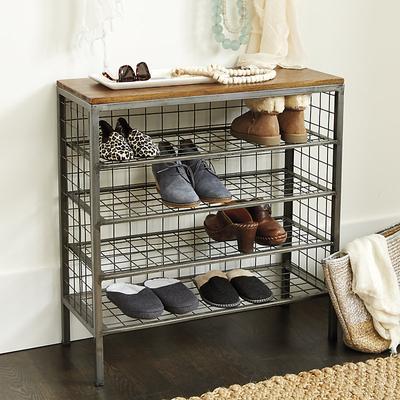 Cambridge 4-Shelf Shoe Tower - Ballard Designs