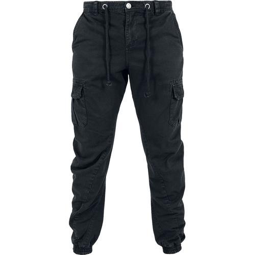 Urban Classics Cargo Jogging Pants Herren-Cargohose - schwarz