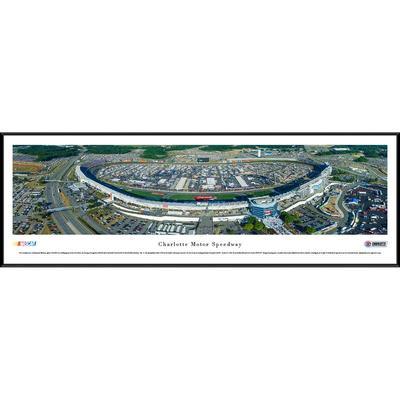 """Charlotte Motor Speedway 13"""" x 40"""" Standard Frame Panoramic"""
