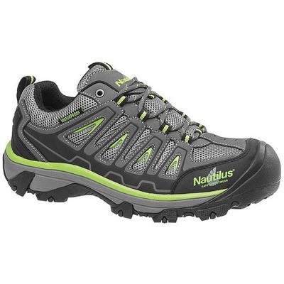NAUTILUS SAFETY FOOTWEAR N2208 Size 9-1/2W Men's Athletic Shoe Steel Work Shoe,