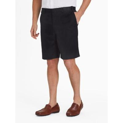 Men's Adjust-A-Band Relaxed-Fit Microfiber Shorts, Black 34