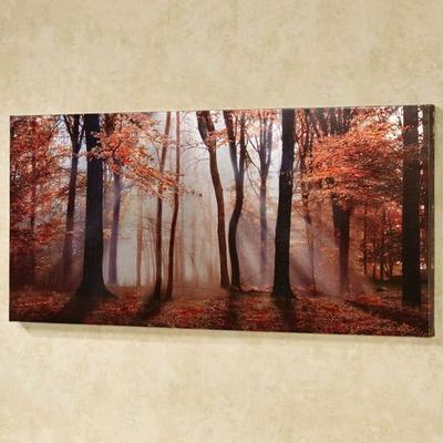 Autumns Allure Canvas Wall Art Multi Warm , Multi Warm