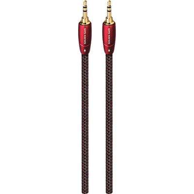 AudioQuest Golden Gate 9.8' 3.5mm-to-3.5mm Audio Cable - Black/Red - GOLDG03M