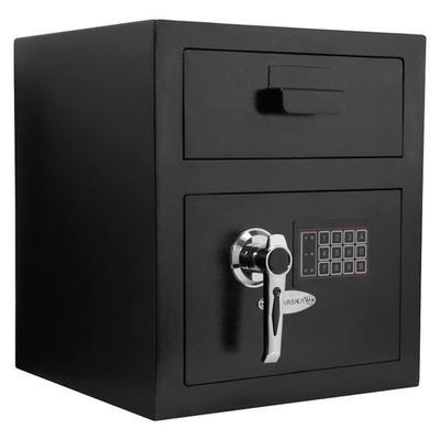 Barska Standard Keypad Depository Safe - Black - AX11932