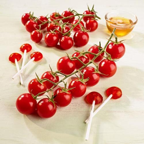 Tomatenpflanze Solena Sweet Red, veredelt, im ca. 12 cm-Topf