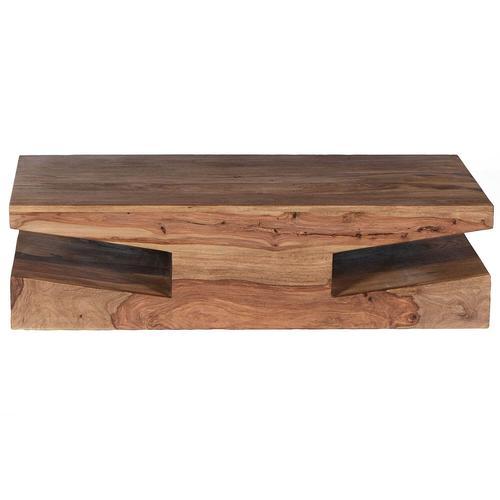 SIT Goa Sheesham Massivholz Couchtisch 115x 30x 60cm