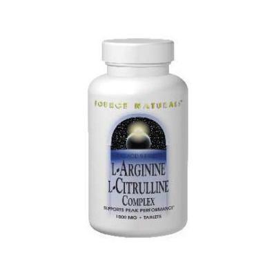 Source Naturals L-Arginine L-Citrulline Complex 240 Tabs