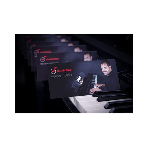 music2me Klavier Weihnachtslieder Paket