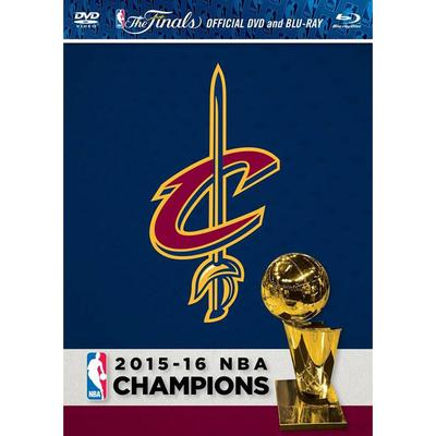"""Cleveland Cavaliers 2016 NBA Finals Champions DVD & Blu-Ray Combo Pack"""