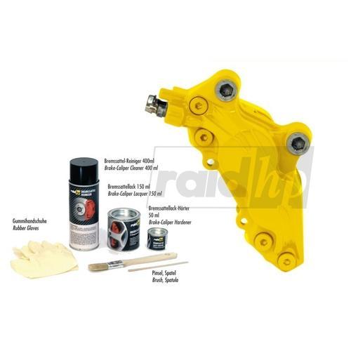 Bremssattellack-Set 'gelb'   Raid, Farbe: gelb
