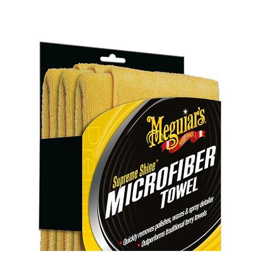 Supreme Shine Microfibre Mikrofasertuch (3 Stk) | Meguiars