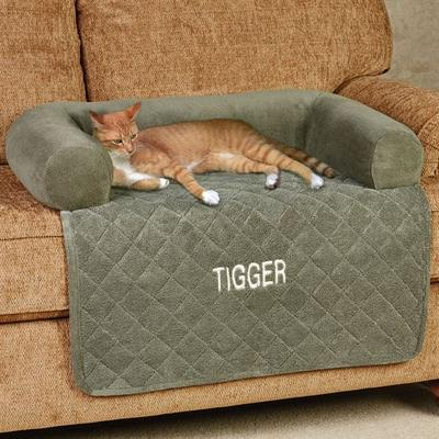 Ultimate Microplush Bolstered Pet Cover, Large, Beige - 849203028615