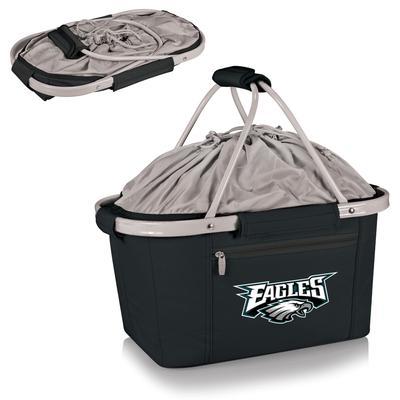 Black Philadelphia Eagles Metro Basket Collapsible Tote