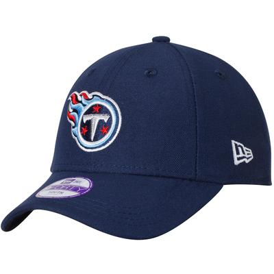 Youth Tennessee Titans New Era Navy League 9FORTY Adjustable Hat