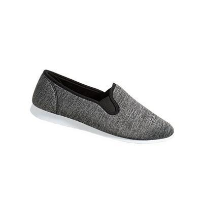Haband Women's Lite Cruiser Slip-Ons, Black, Size 8.5 Wide, W