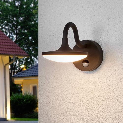 Finny - LED-Außenwandlampe mit Bewegungsmelder