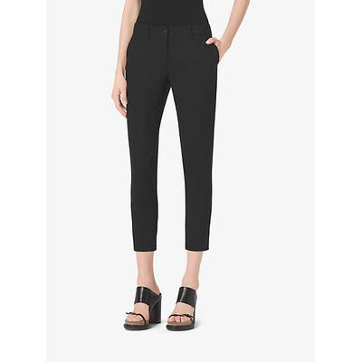 Michael Kors Stretch Wool-Gabardine Trouser Black 10