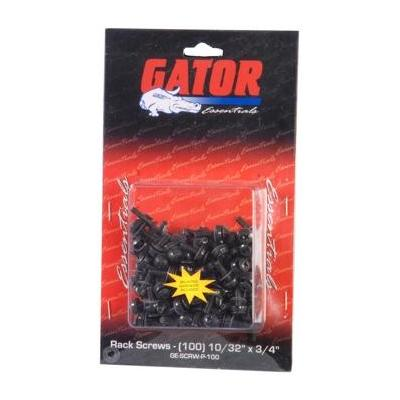 Gator Cases Gator GRW-SCRW025 - Rack Screws - 25 Pack (Rack Screws - 25 Pack): Portable Racks & Case