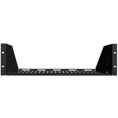 Sanus Systems CASH22 Vented Rack Shelf (2U Wide - Black)