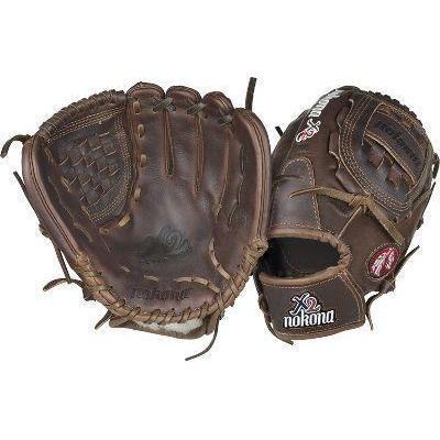 """Nokona X2 Elite Series 12"""" Baseball Glove , Blk Print"""