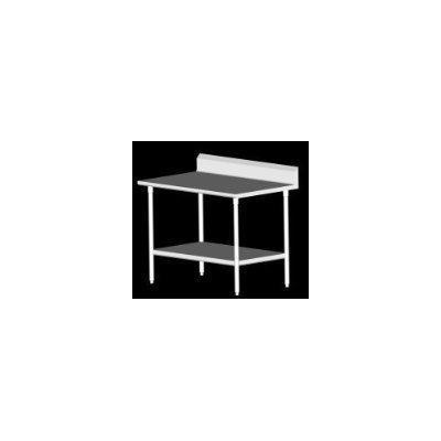 John Boos ST6R5-2472GSK 16-Gauge Stainless Steel-Top Work Table