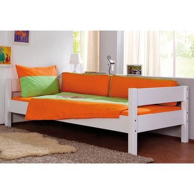Relita Massivholzbett, wahlweise mit Matratze weiß Massivholzbett Betten