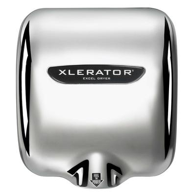 Excel Dryer XL-C-1.1N Automatic Hand Dryer w/ Noise Reduction & 8 Second Dry Time - Chrome, 110 120v