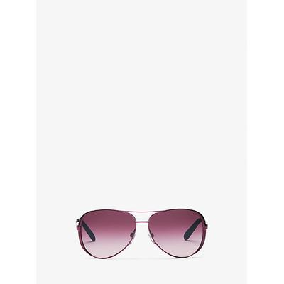 Michael Kors Chelsea Sunglasses Red One Size
