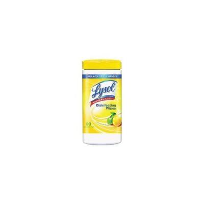 Lysol 77182 Disinfecting Wipes, Lemon & Lime, 80 Wipes (RAC77182EA)