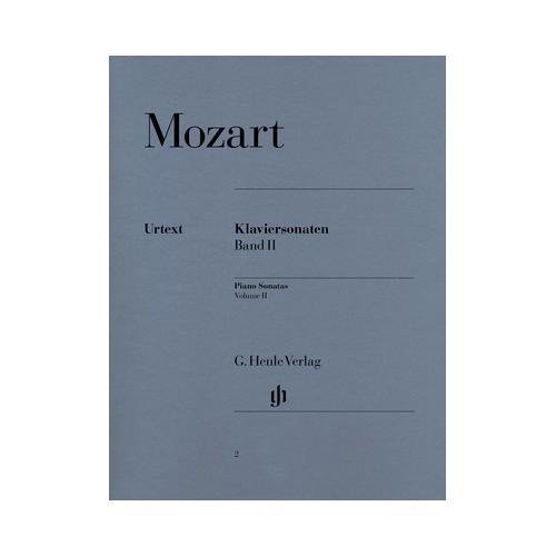 Henle Verlag Mozart Piano Sonatas 2