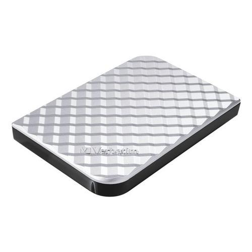 Mobile Festplatte »Store 'n' Go Gen 2« silber, Verbatim, 14.5x4.2x17.5 cm