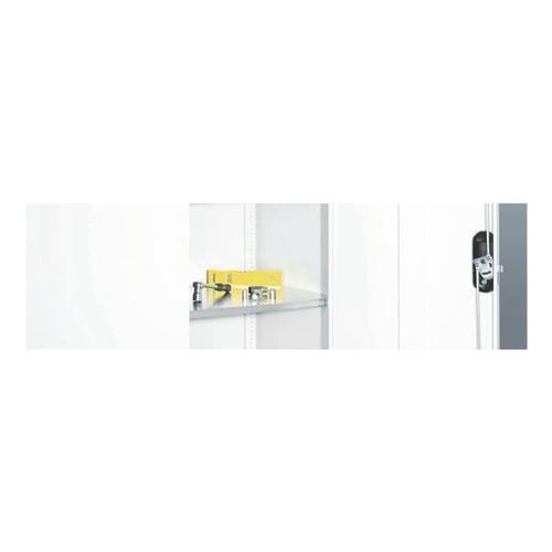 Stahlfachboden »119,5 x 55,2 cm« grau, CP, 119.7x2.4 cm