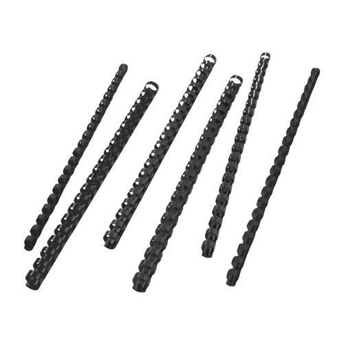 Plastikbinderücken Ø 8 mm schwarz, GBC