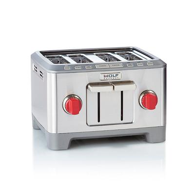 Wolf Gourmet Four-slice Toaster - Red - Frontgate