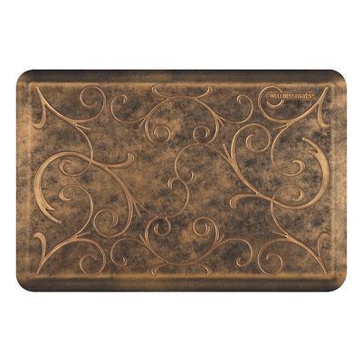 WellnessMats Estate Collection Bella Comfort Mat - Aztec Gold, 6' x 2' Aztec Gold - Frontgate