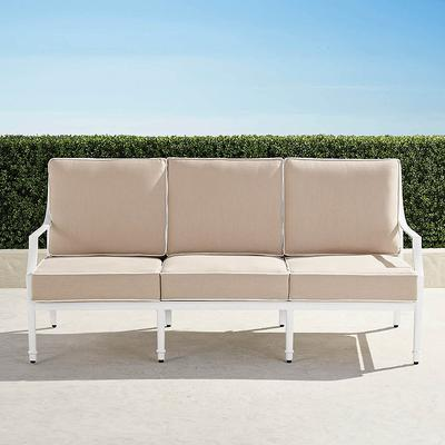 Grayson Sofa with Cushions in Wh...